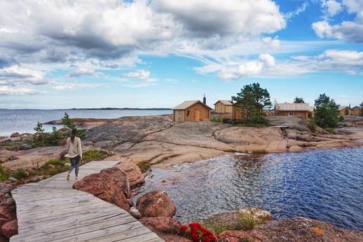 Naturskönt och äventyrligt är två bra ledord för Åland.